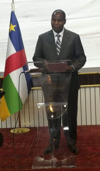 RCA COVID 19 : MESSAGE A LA NATION DE SON EXCELLENCE LE PROFESSEUR FAUSTIN ARCHANGE TOUADERA, PRESIDENT DE LA REPUBLIQUE, CHEF DE L'ETAT